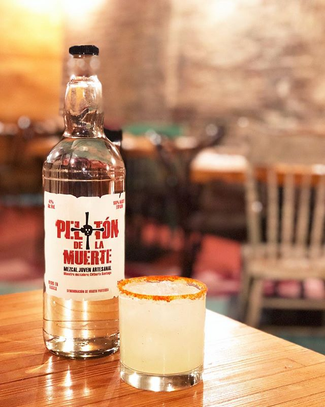National Margarita Day or not (it is though!), we celebrate every day with the perfect @pelotonmezcal margarita ❤️💀