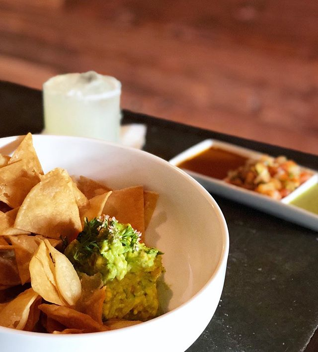 We don't fork around with the classics! 🕔 Happy Hour, 5-7 every day 🍹 $8 Margaritas 🥑 $7 Guacamole