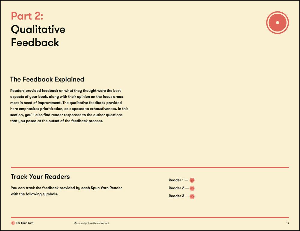 Copy of Page 14 – Qualitative Feedback