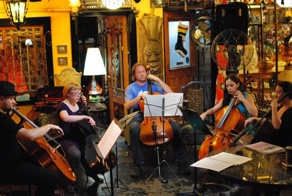 Classical Revolution at the Prophouse