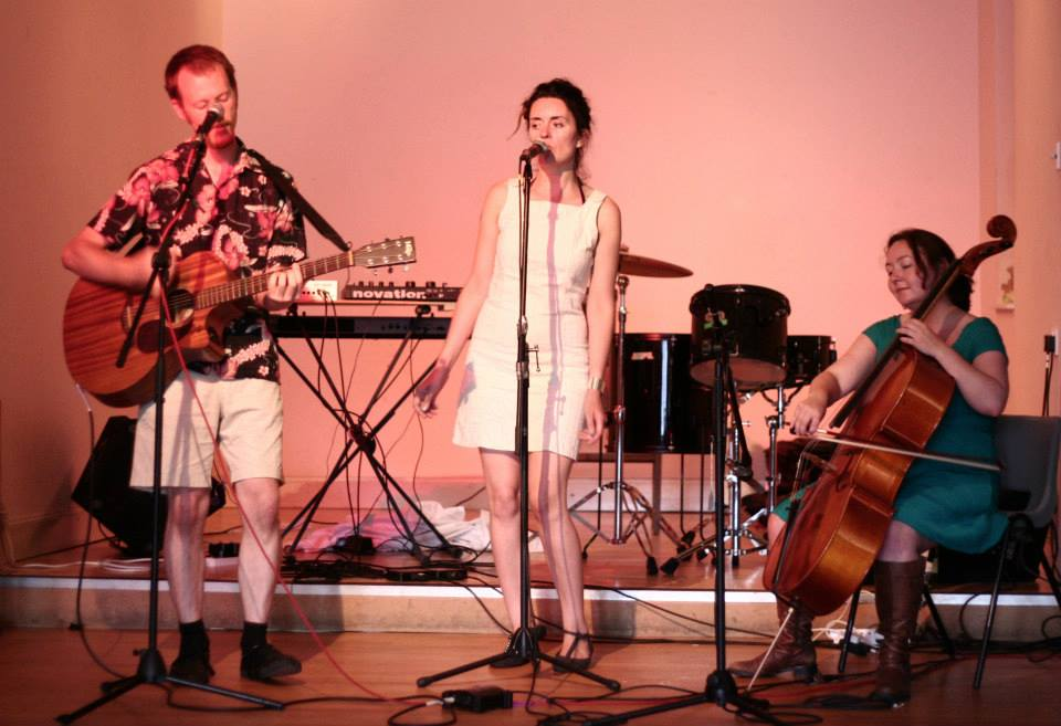 With Danny and Ila, Edinburgh 2013