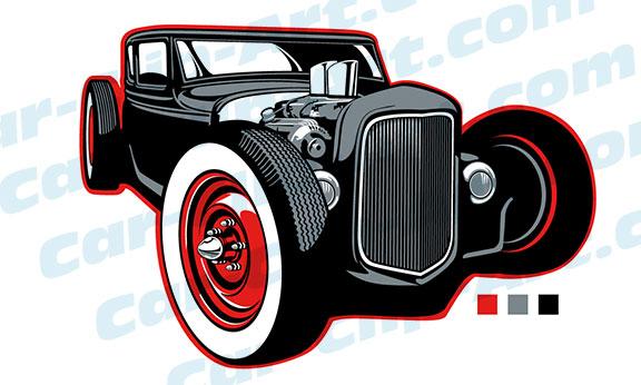Rat Rod Clip Art Car Clip Art Com