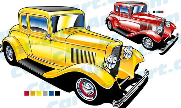 deuce coupe hot rod clip art car clip art com rh car clip art com hot rod clipart free hot rod clipart drawing 1932 ford
