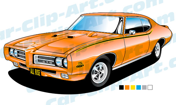 pontiac gto judge vector art car clip art com rh car clip art com muscle car clipart free classic muscle car clipart