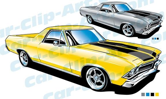 1968 chevy el camino clip art car clip art com rh car clip art com Muscle Car Coloring Pages muscle car clipart images