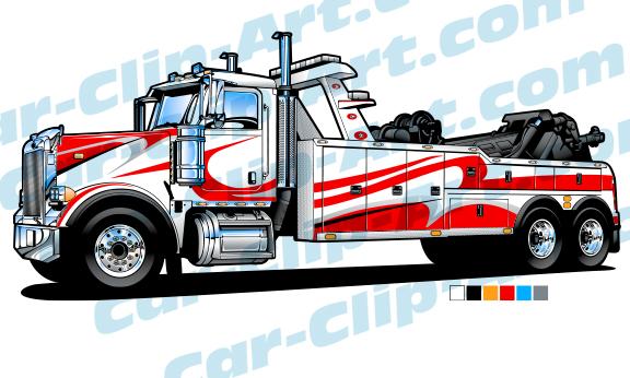 peterbilt heavy duty tow truck vector art car clip art com rh car clip art com tow truck vector art free tow truck vector image