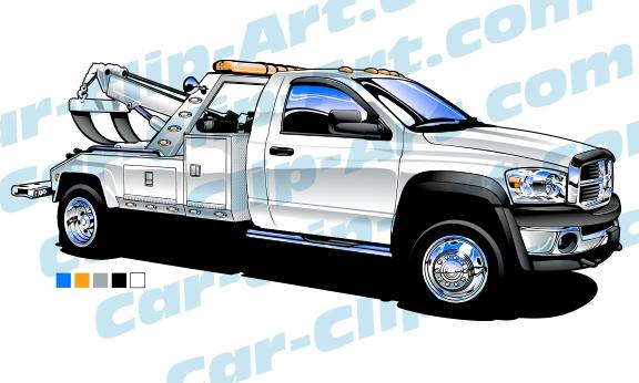 dodge ram light duty tow truck vector art car clip art com rh car clip art com tow truck vector illustration cartoon tow truck vector