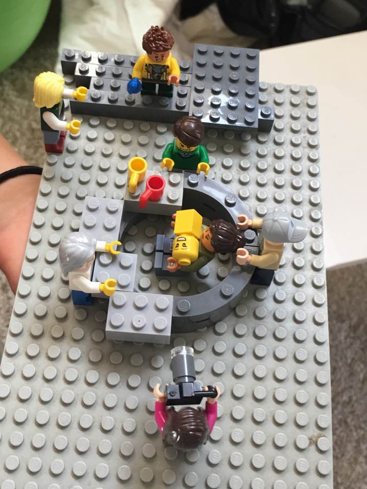 Homebirth Lego scene by my 8 year old. The only one of its kind that I know of. :)