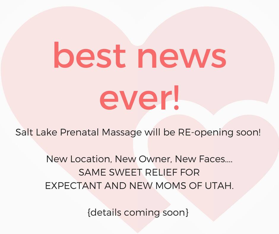 Blog Salt Lake City Prenatal Massage