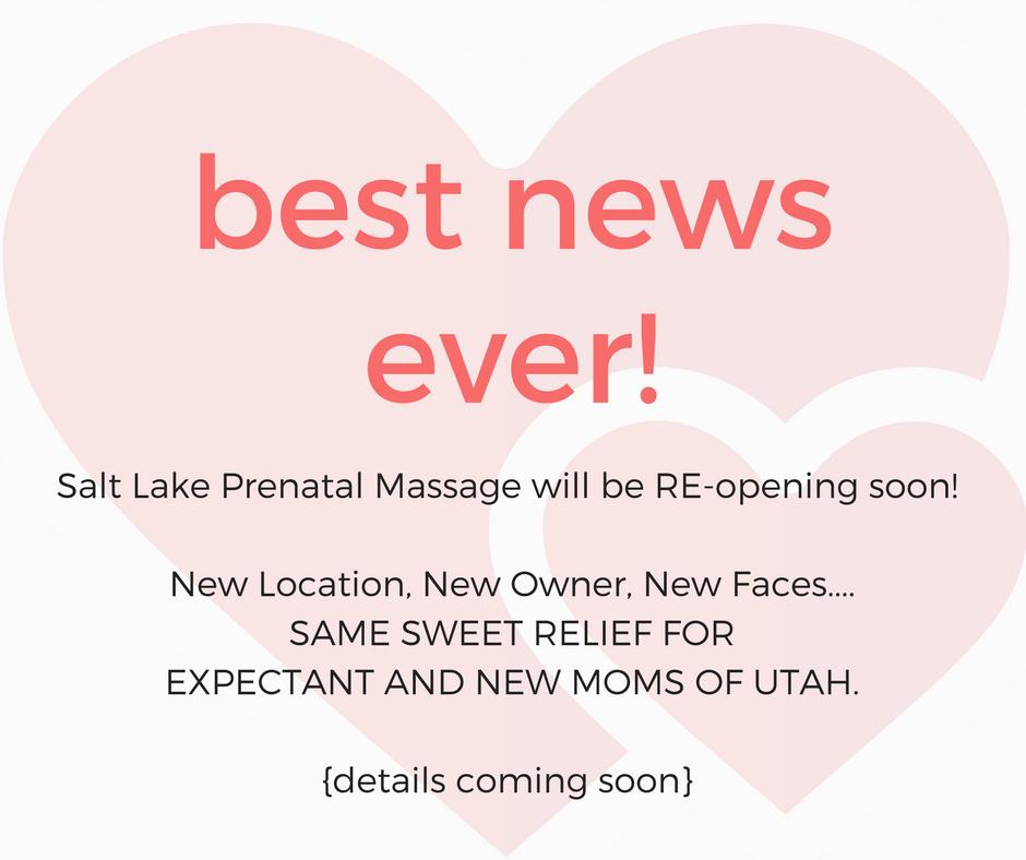 Blog Salt Lake City Prenatal Massage