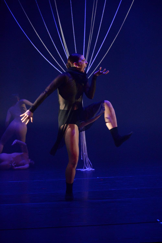 Dancer Oksana Maslechko in  Ubuntu - I Am Because We Are   Photo by Olga Kuts