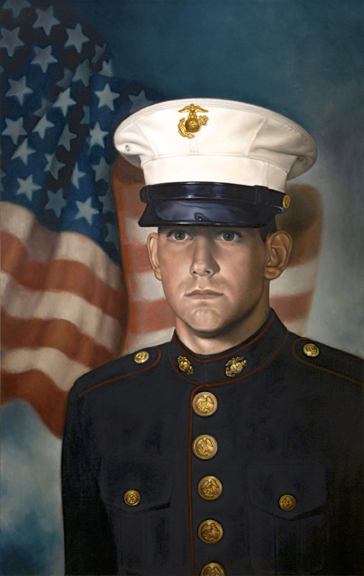 Danny in His Dress Blues