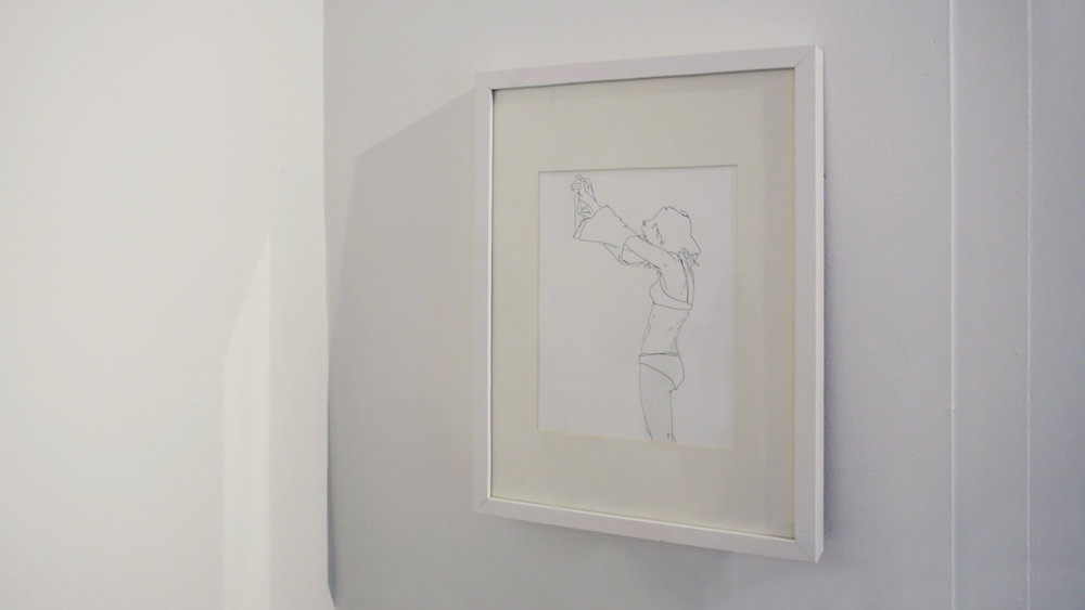 drawing by Natasha Law