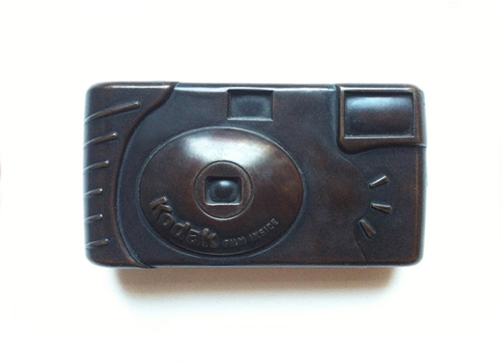 Bronze Disposable Camera