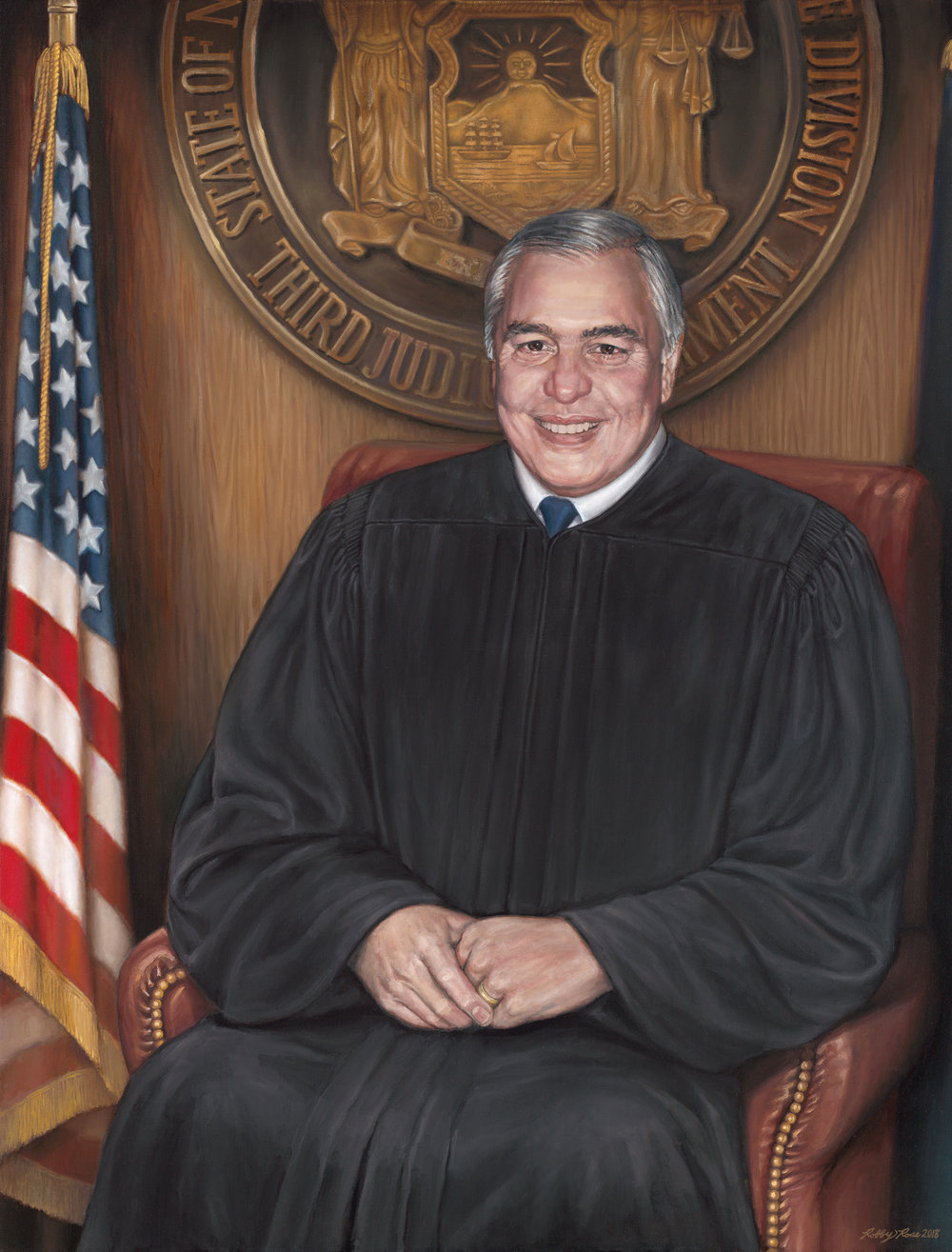 Hon. Anthony V. Cardona, Presiding Justice of the Appellate Division of the New York State Supreme Court, Third Department
