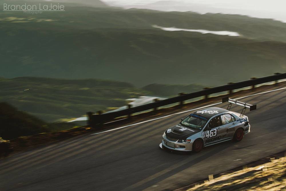 Yuri on his way to a rookie Pikes Peak run of 11:03