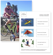 Cards with just sentences, no symbols (pdf)