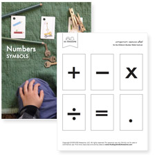 Addition, Subtraction, Multiplication, Division and Equal Symbols (pdf)
