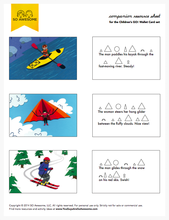 Outlined Montessori Grammar Symbols (pdf) 11 p