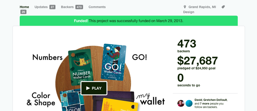Successfully Funded