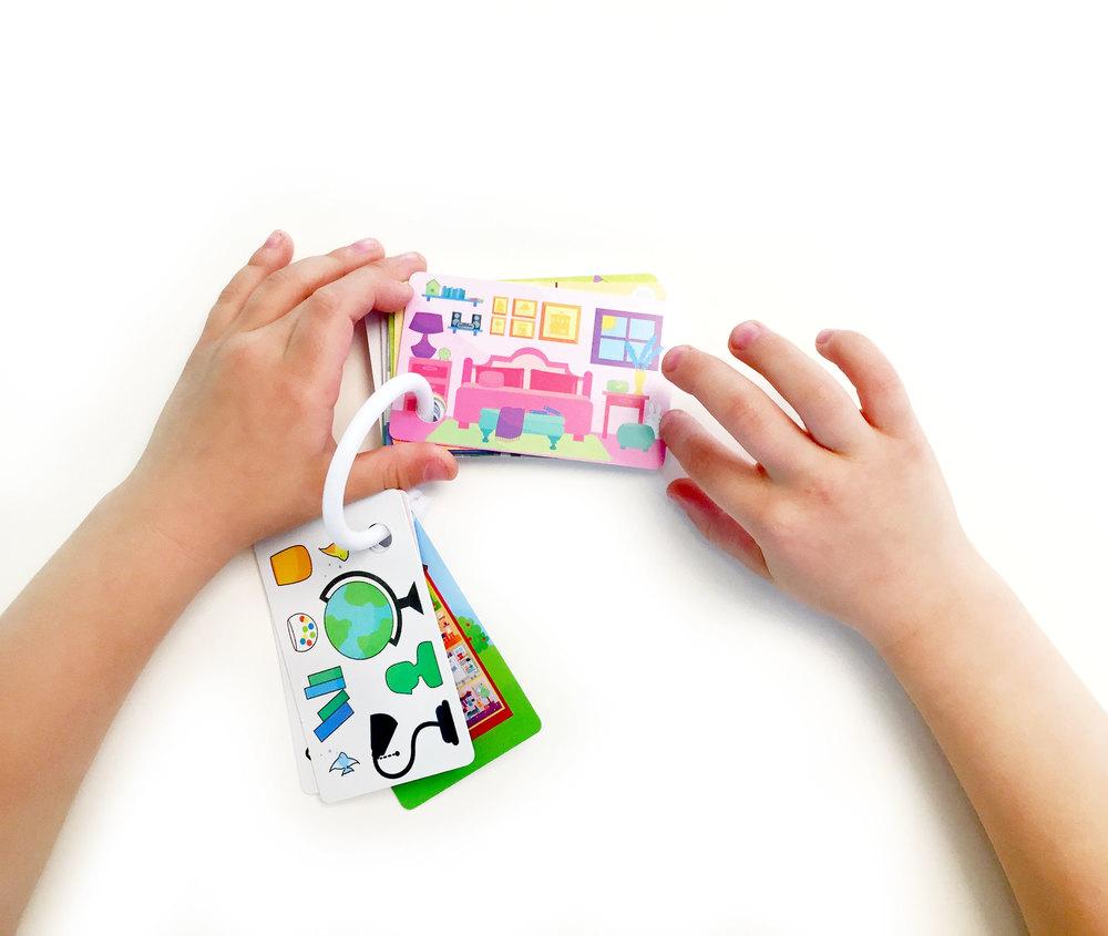 Children's House Wallet Cards deck