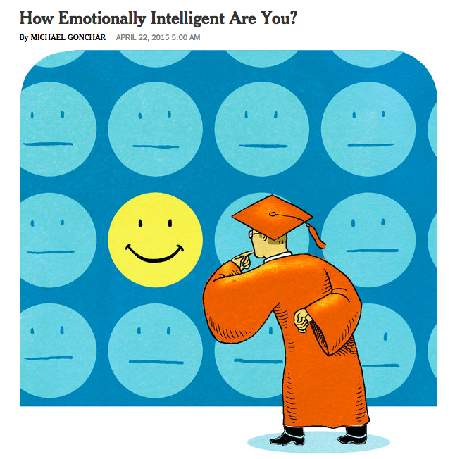 NY Times article on Emotional Intelligence