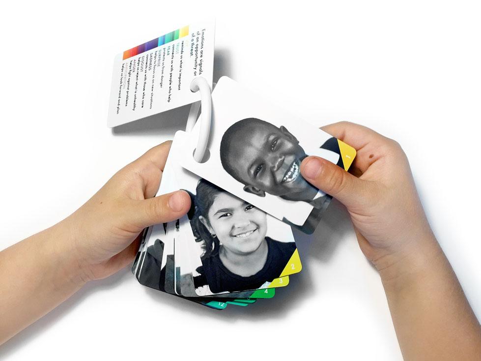 Children's Emotion Wallet Cards