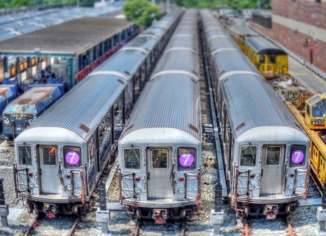 photo credit:b k Railyard for NYC #7 subway line