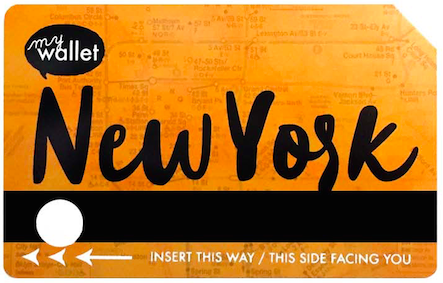 SO Awesome's Children's version of the New York City transit card.