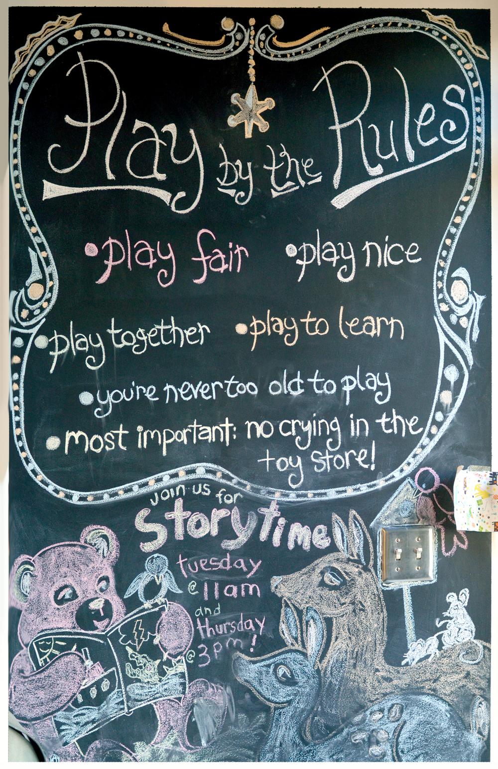 Play Logan Square Chalkboard
