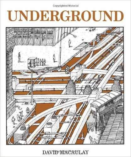 Underground by David Macaulay  Amazon.com link