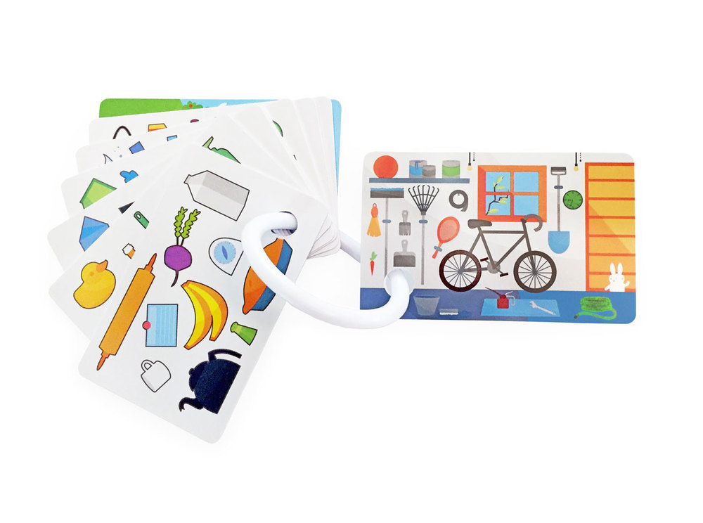 The Children's House Wallet Card set