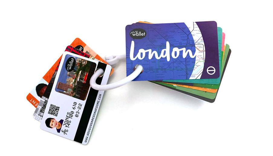 Children's Public Transit Wallet Cards