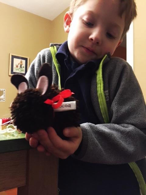 Silas with our first bunbun