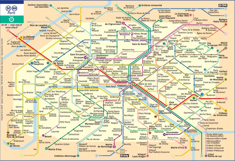 Maris Metro Map
