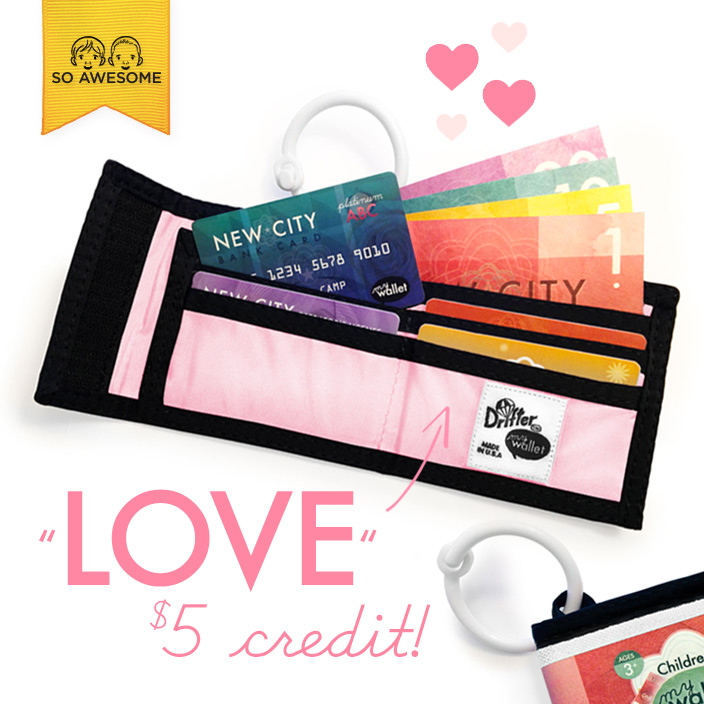 Use coupon code LOVE at checkout for a $5 spending credit in our store