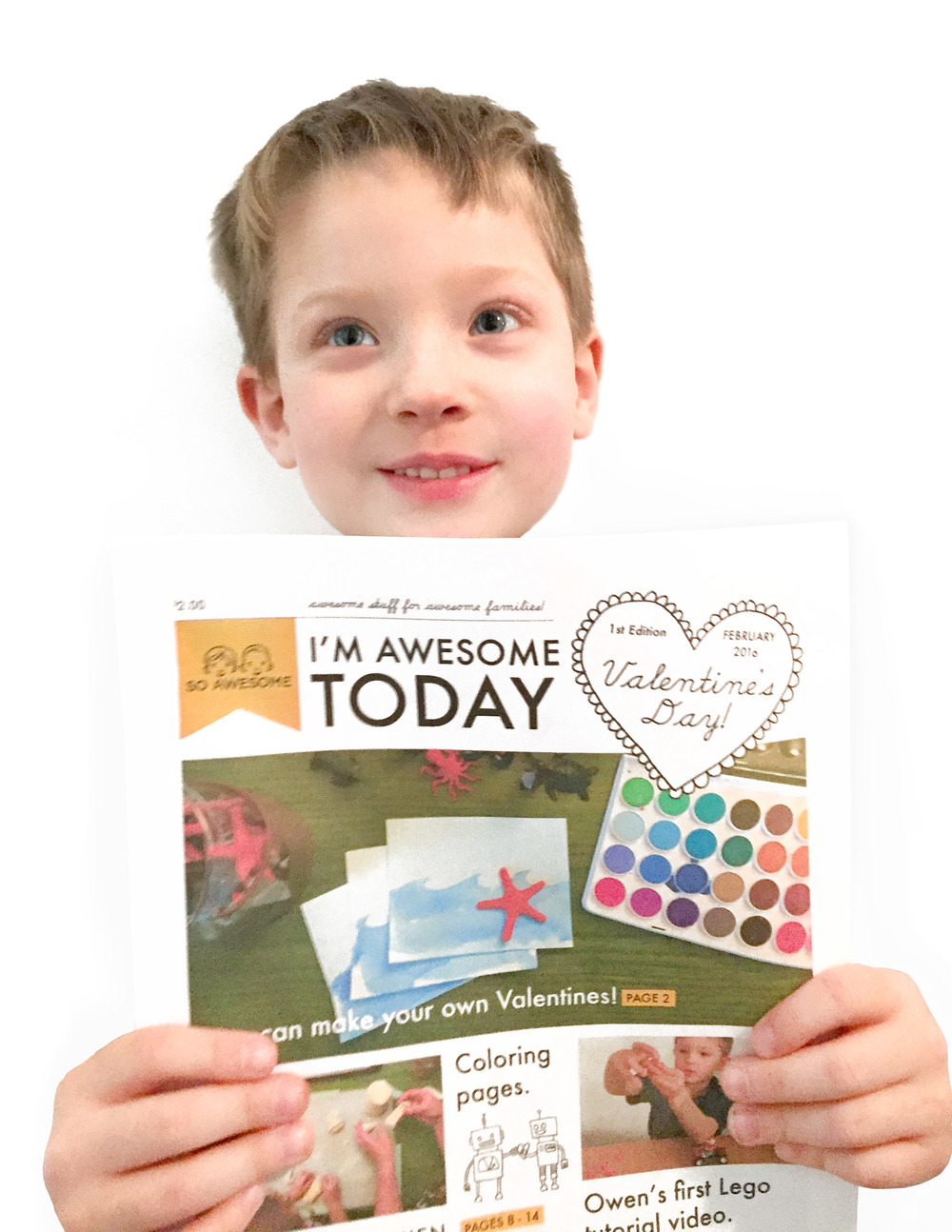 """""""I'm Awesome Today"""" New E-zine for families"""