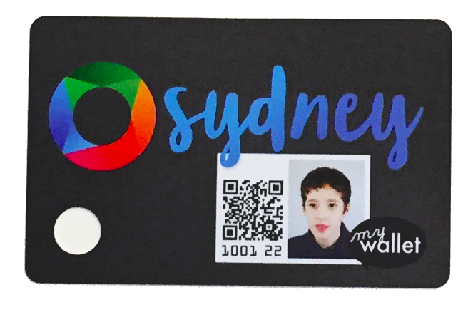 SO Awesome's Children's Public Transit Wallet Cards Sydney card