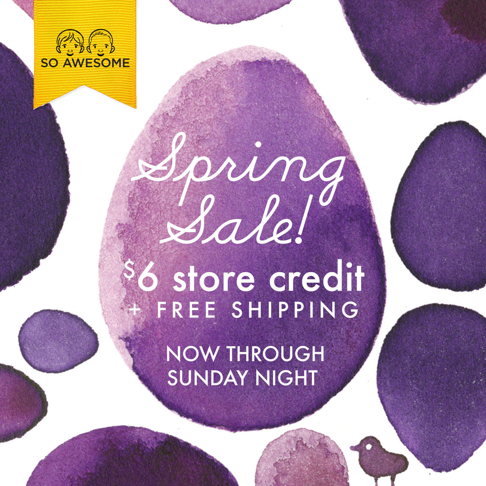 Spring Sale -www.YouGuysAreSoAwesome.com