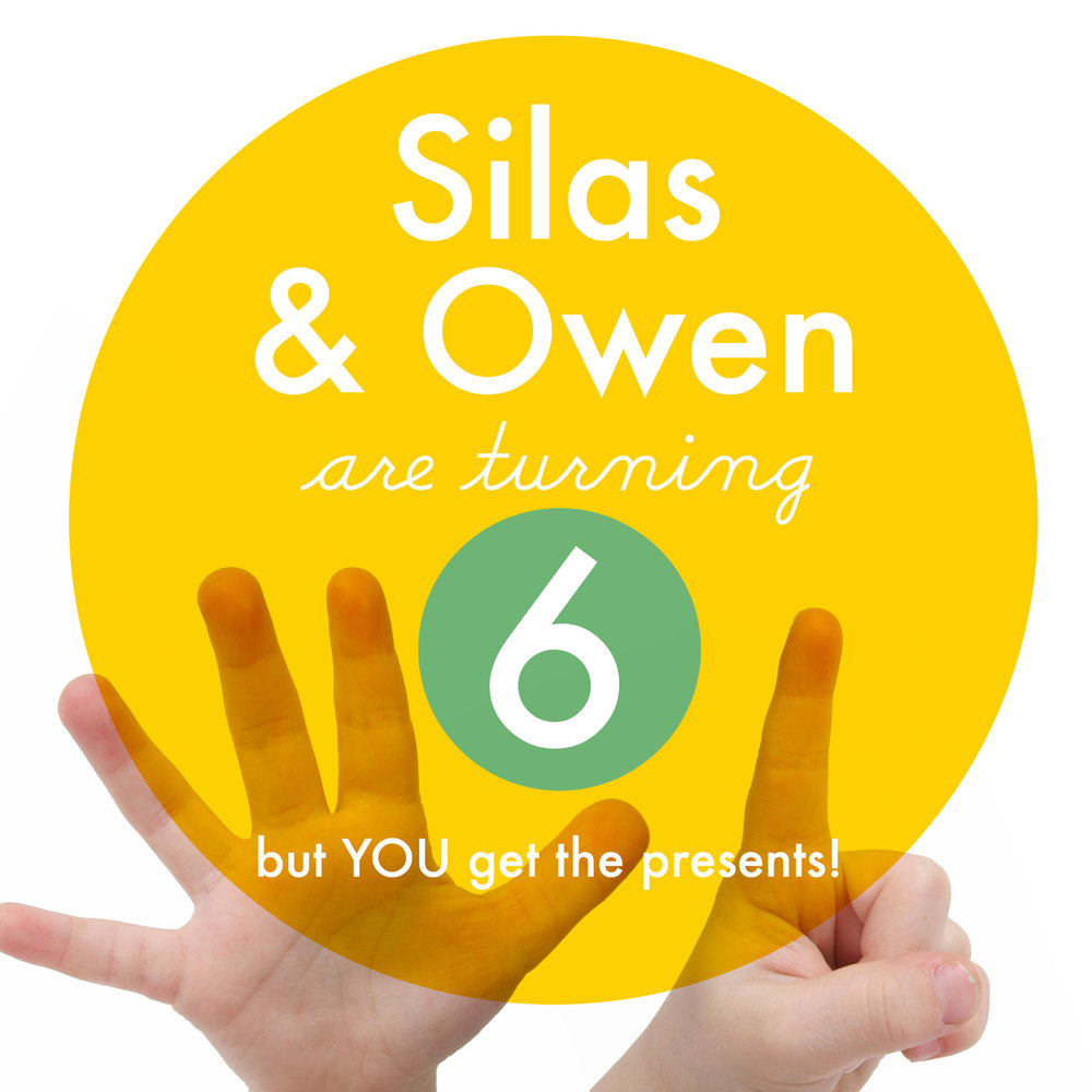 Happy Birthday Owen and Silas!