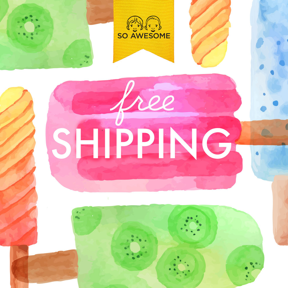 Free shipping this summer!
