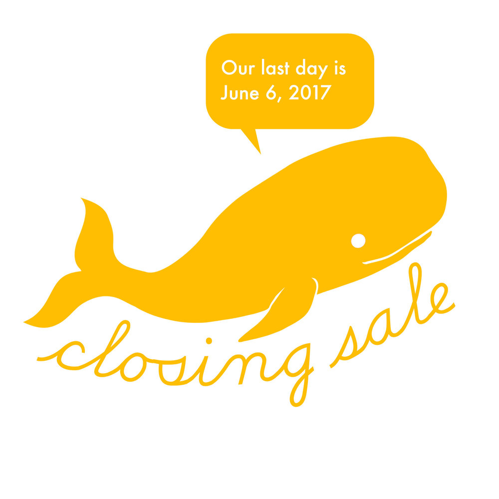 closing sale whale