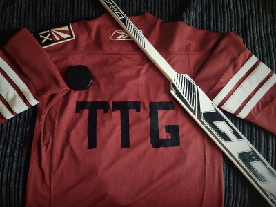 Tappa Tappa Goal's Greek Life Hockey Gear