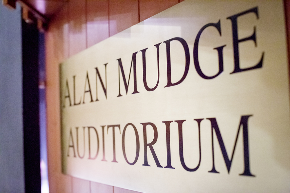 The Alan Mudge Auditorium, at Linquist Commons, Dover-Sherborn High School