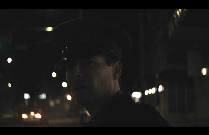 Kristopher Nielsen stars as the protagonistin The Character Study short film