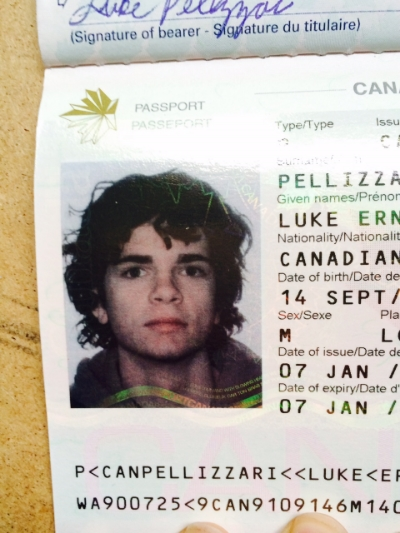 I'm applying for a new passport since mine expired. I always feel like a criminal using this photo anyway, since I look a little different now.