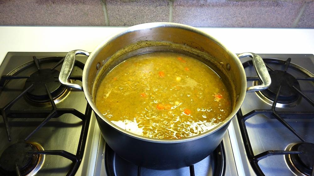 Cooking Split Pea Soup