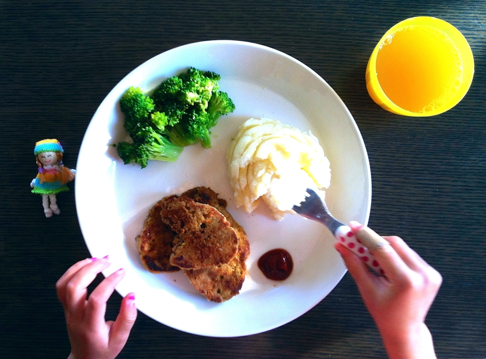 For most people who wonder what food will fill a vegan plate, seitan is a easy and tasty substitute. Franka loves it!