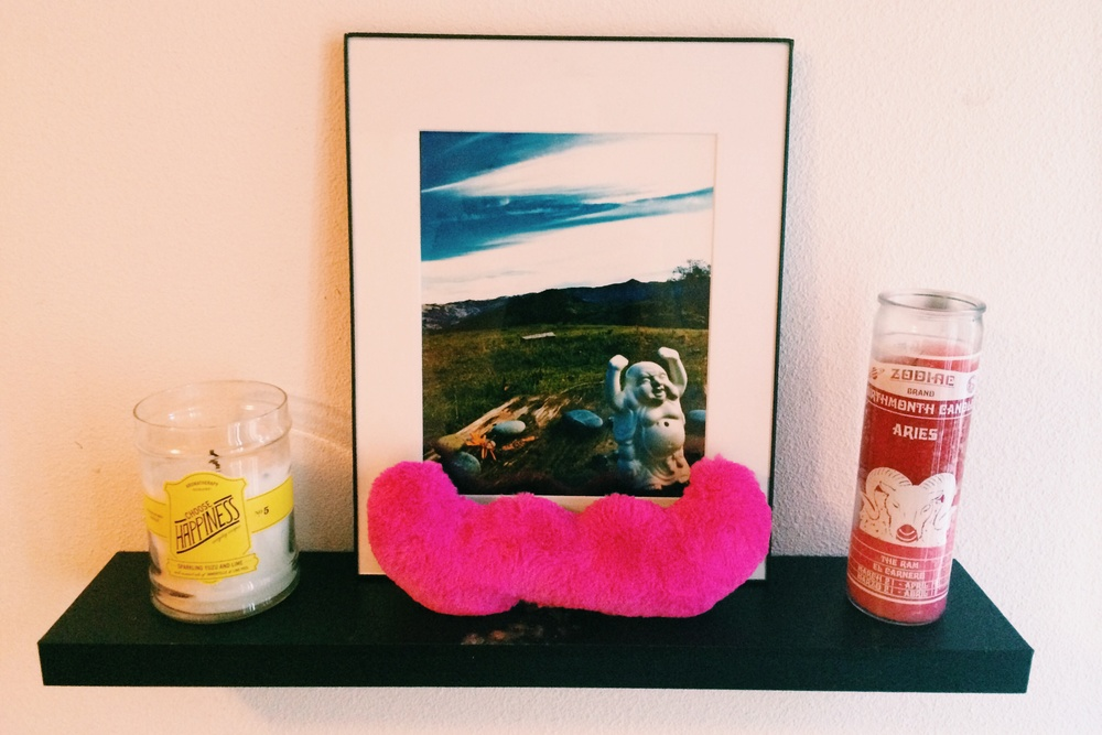 Buddah // Happiness // Aries // Lyft Stache'