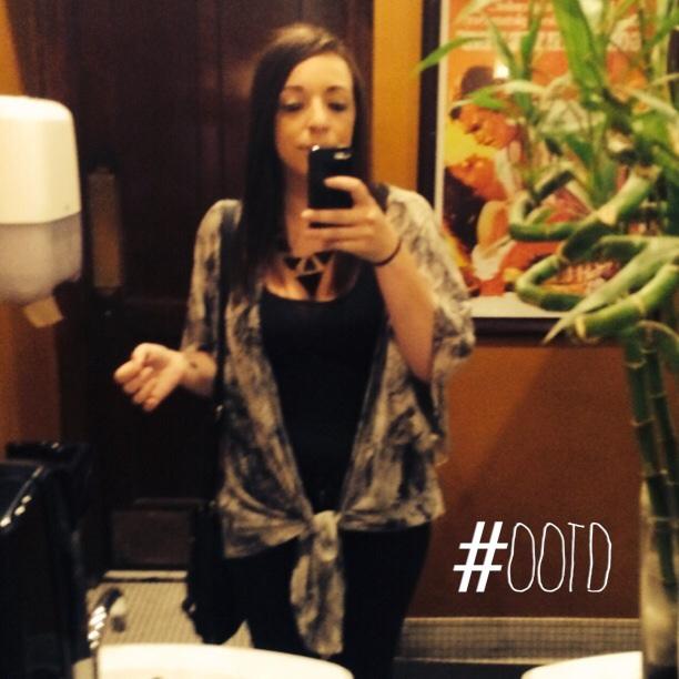 Last weekends OOTD - kimono obsessed